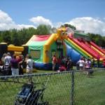 SpongeBob Slide was a popular attraction for the kids