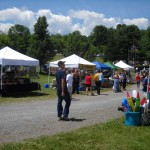 A great day for shopping with our vendors